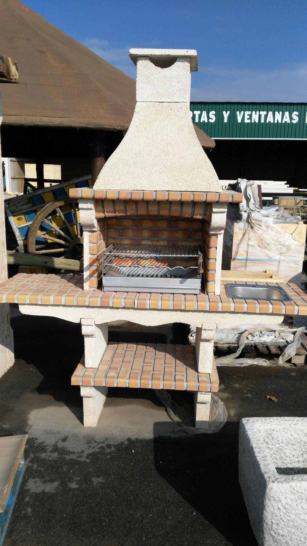 Barbacoas rusticas de obra excellent barbacoas baratas for Barbacoas exteriores de obra