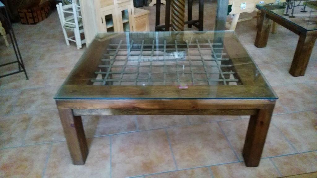 Rusticos y madera mesas de madera - Mesa cocina rustica ...