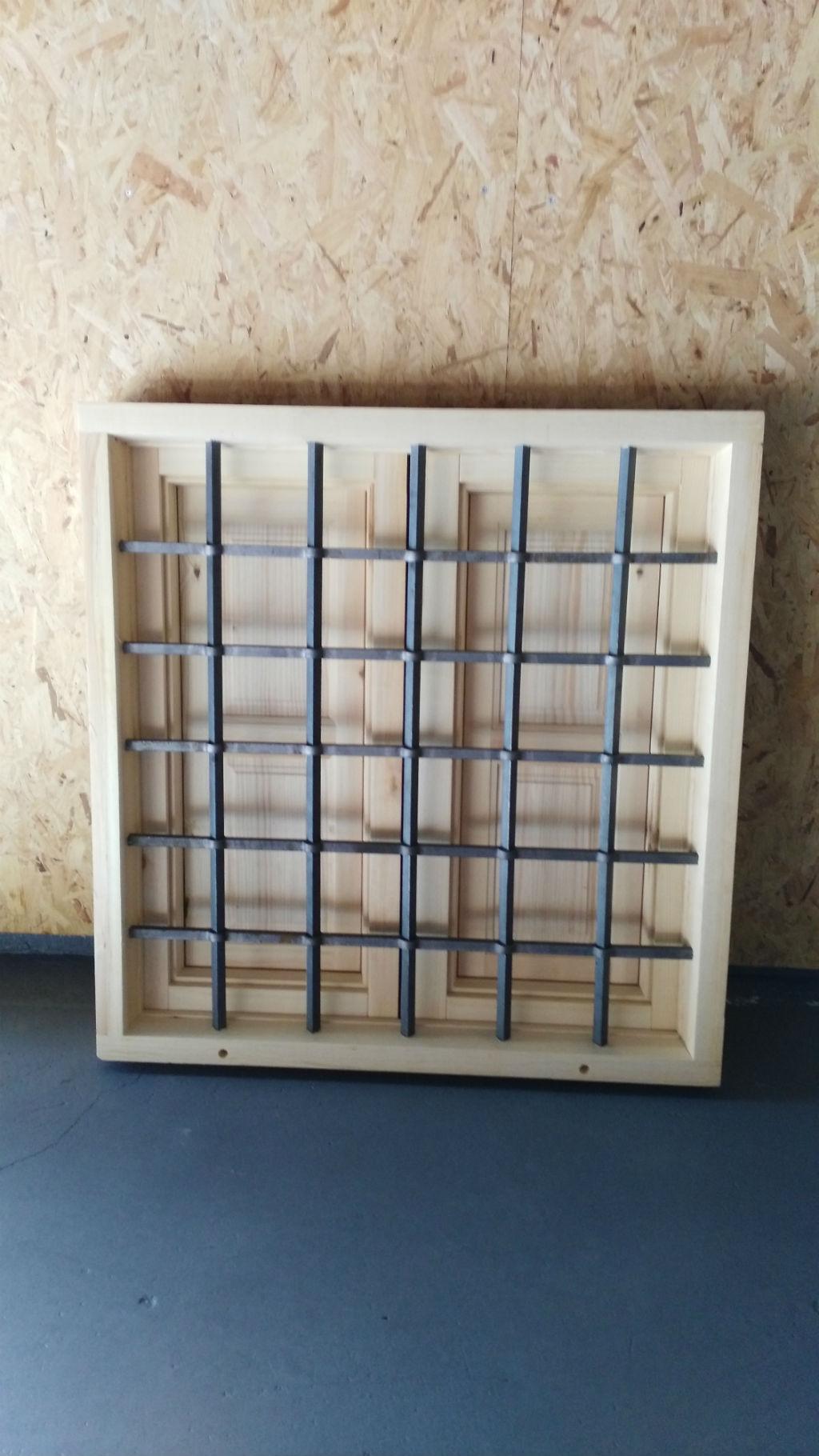 Rusticos y madera ventanas de madera - Rejas de madera ...