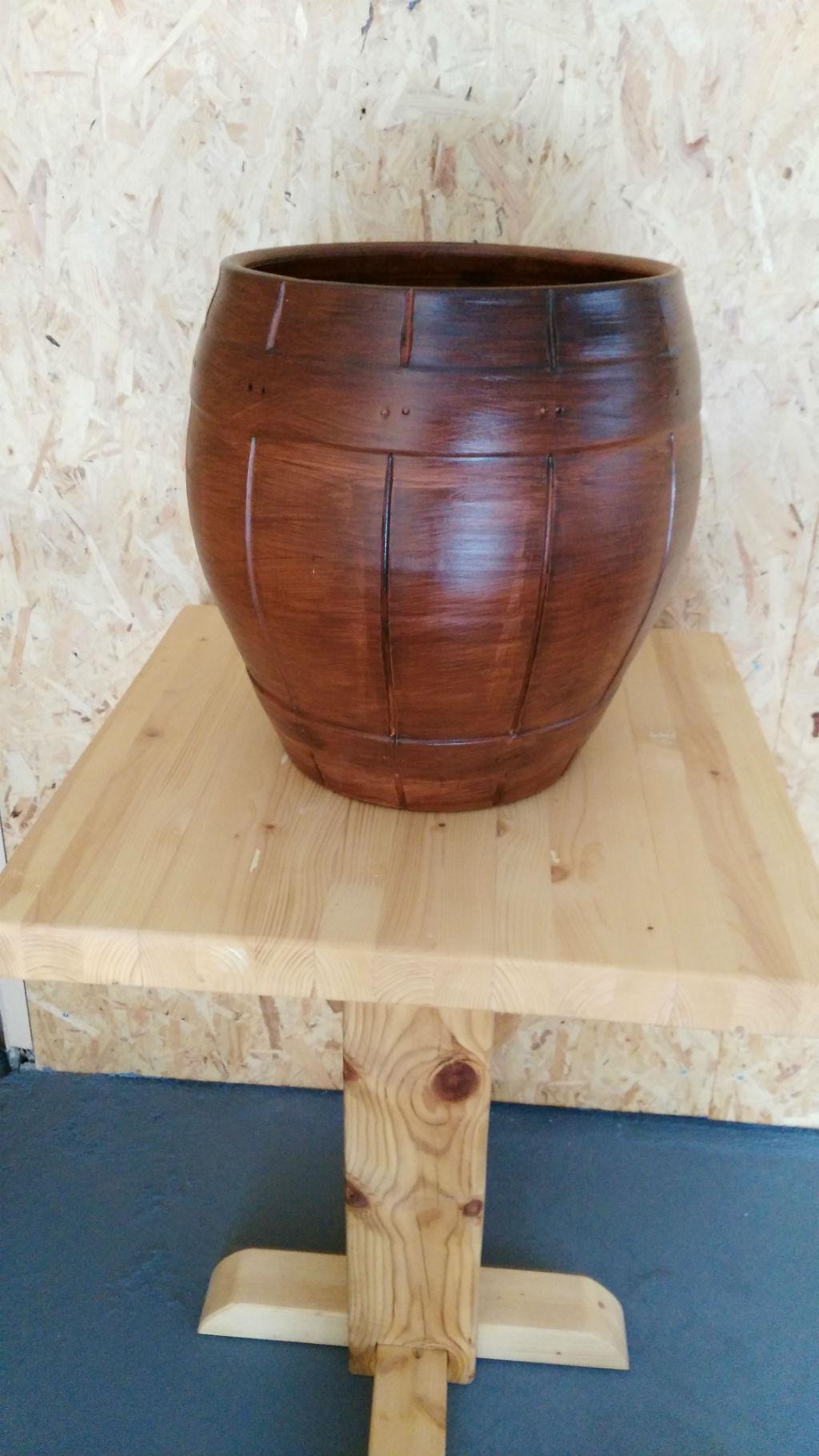 Rusticos y madera maceteros y macetas - Maceteros de madera ...