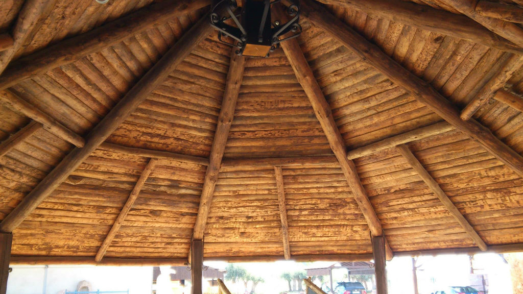 Rusticos y madera p rgolas de madera - Pergolas de madera valencia ...