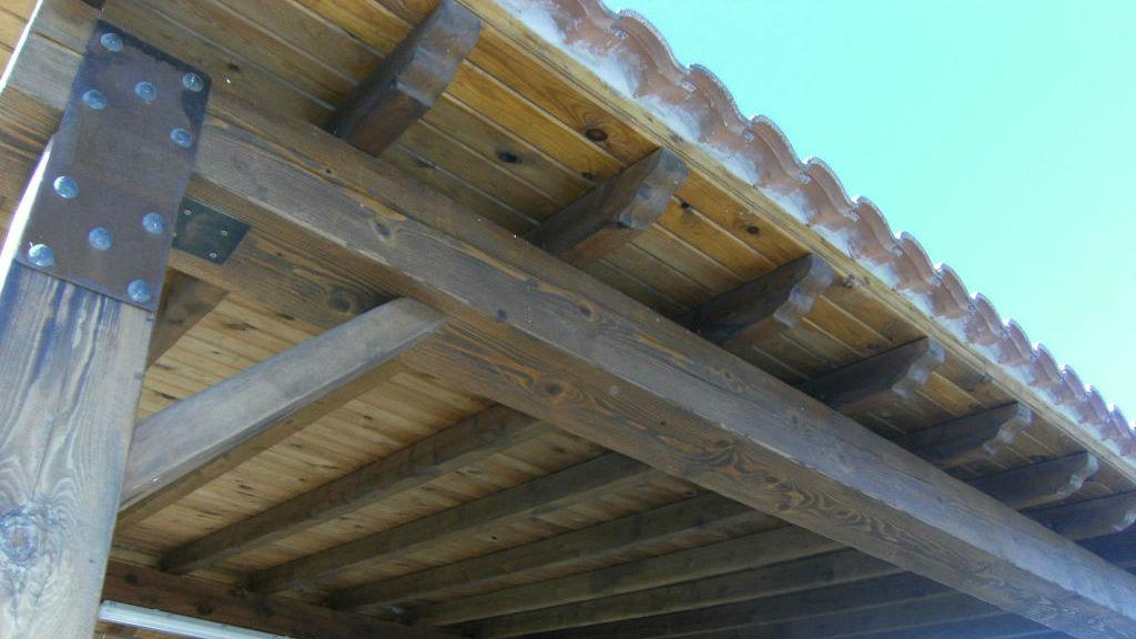 Rusticos y madera p rgolas de madera - Pergolas rusticas de madera ...