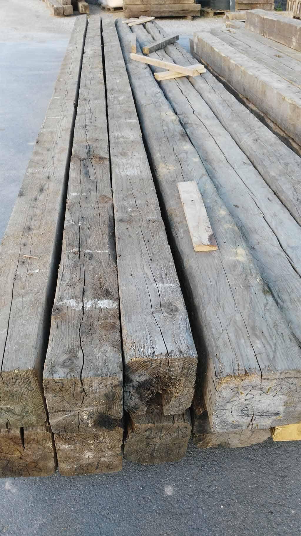 Rusticos y madera vigas de madera vieja recuperadas - Vigas de maderas ...
