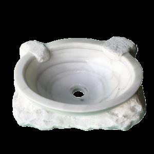 poza de mármol para lavabo