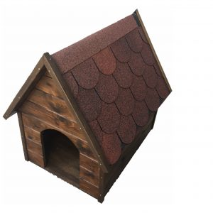 casa de madera para perro