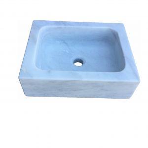 lavabos mármol blanco macael